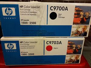 pour HP Color Laserjet 1500 ou 2500, Kit d'imagerie et cartouche