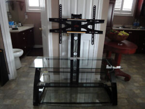 3 in 1 T.V. Stand for up to a 55 inch Flat Panel or 135lbs