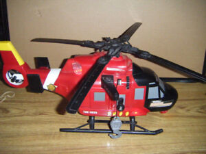 Tonka Fire Rescue Helicopter