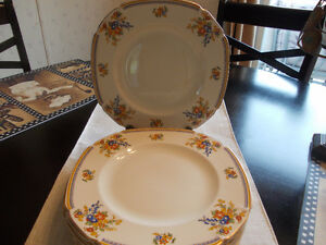 antique dinner plates