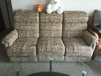 Recliner Sofa (extendable on two ends)