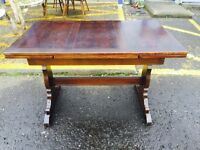 Beautiful Vintage Ercol Draw Leaf Dining Table