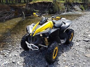 can-am renegade 800xxc  very fast.. low km .winch..great quad