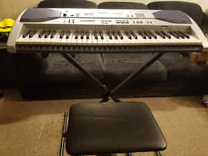 Casio LK-90TV 61-Key Lighted Keyboard with Karaoke Function
