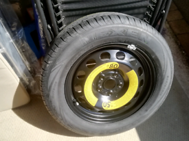 """Spare wheel and tyre for VW range using 18"""" wheels"""