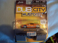 DUB CITY 1/64 SCALE KUSTOMS ORANGE FORD GT