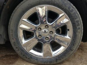 dodge journey tires and rims