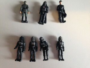 Various mini Star Wars action figures $20, OBO