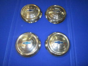 1951   53   Chevrolet Dog Dish Hubcaps