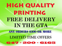 HIGH QUALITY PRINTING 25,000 FLYERS ONLY $600.00 Limited time...