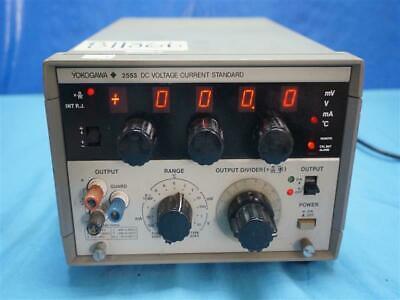 Yokogawa 255342 Dc Voltage Current Standard