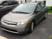 2008 Honda Civic DX. NEW PRICE Low kms, perfect condition