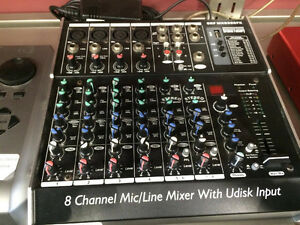 Groove Factory 8 Channel Mixer
