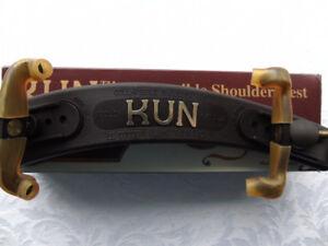 KUN COLLAPSIBLE SHOULDER REST  VIOLIN  4 / 4