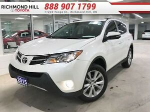2015 Toyota Rav4 Limited  - one owner - local - non-smoker - Cer