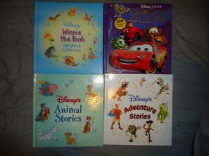 DISNEY STORYBOOKS COLLECTIONS SET OF 4