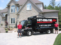 KW'S #1 Junk Removal/ Bin Rental Save$50 Sameday 1-877-586-5896
