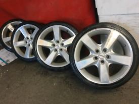 "19"" Star tech alloy wheels 5 x 114.3 Nissan Toyota vivaro traffic"