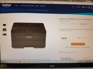 Brother HL-L2360DW Compact laser printer WIFI