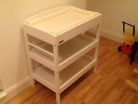 Changing Table/Dresser by East Coast - Pure White