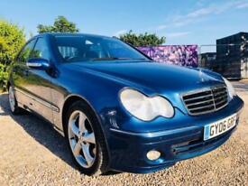 Mercedes-Benz C Class 1.8 C200 Kompressor Avantgarde SE Saloon 4dr Petrol Auto