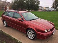 (54) Jaguar X-Type Sport diesel estate FSH