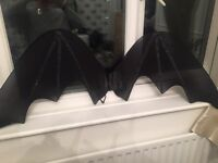 Adult large bat wings- halloween