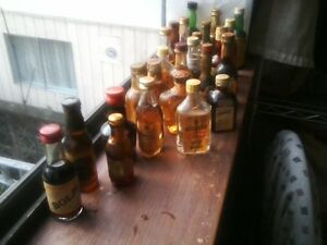 1960's Full 25 Bottles of MINIATURE Sample ....Wine & Liq