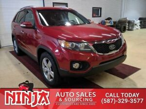 2013 Kia Sorento EX  Luxury AWD Leather BU Cam  Low Km