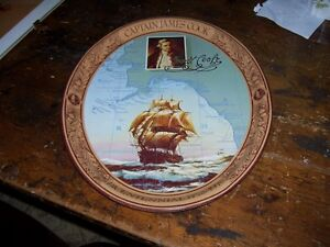 Captain Cook Coca Cola Tray