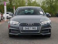 2017 Audi A4 1.4T FSI S Line 4dr [Leather/Alc] Saloon Petrol Manual