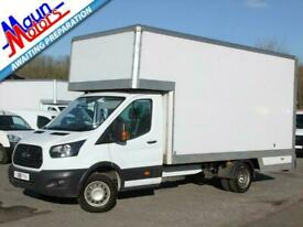 """2018 """"68"""" Ford Transit T350 TDCi 130PS, DROPWELL Removals Box Van with AIR CON,"""