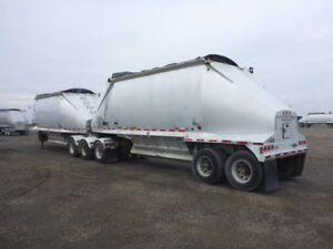 2002 Beall Aluminum Belly bottom dump B-Train trailer