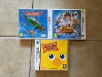 3 Nintendo ds and 3ds Games inc Disney