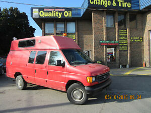 2006 Ford E-350 E 350 EX CARGO HIGH ROOF  ROGERS VAN