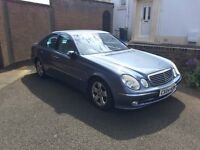 E class mercedes 2004 automatic diesel with computer problems