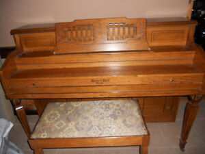 Mason and Risch Piano (Canadian Made)