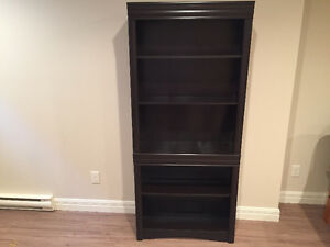 Dark wood Book shelf for sale !