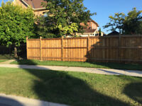 Fence Deck and Tree Removal
