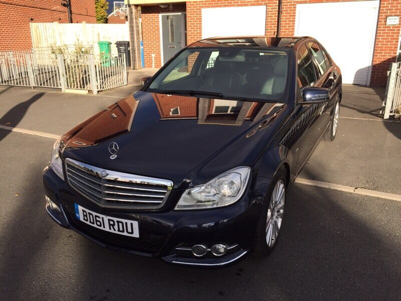 Mercedes-Benz C Class 2.1 C220 CDI BlueEFFICIENCY Elegance 4dr Full Leather+SATNAV