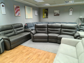 Brand new Scs 4 seater curved sofa + 3 seater