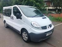 Renault TRAFIC DCI 115 POTENTIALLY A 9 SEATED MINI BUS. NO VAT. RARE AUTOMATIC.