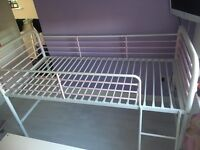 Mid sleeper bed frame from next