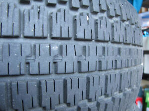 4 Nordic Winter Trac tires with rims Kitchener / Waterloo Kitchener Area image 2