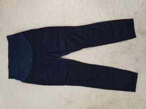 Maternity navy blue jeggings (slim fit)