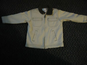 Boys Size 4 Tan Jacket