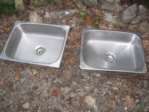 Stainless Steel sinks, excellent condition