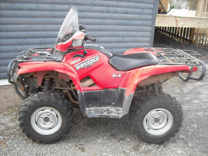 2009 Yamaha Grizzly 700 with power steering