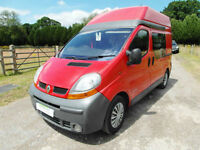 Renault Campervan - 4 Travel Seats - Cab Air-Con