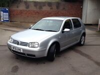 VW Golf GTI 2.0 8V petrol 5 door 2001 Mk4/IV FSH hatchback